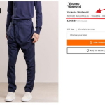 Британский шик-штаны: «Алкоголик Сергей» за 460 долларов