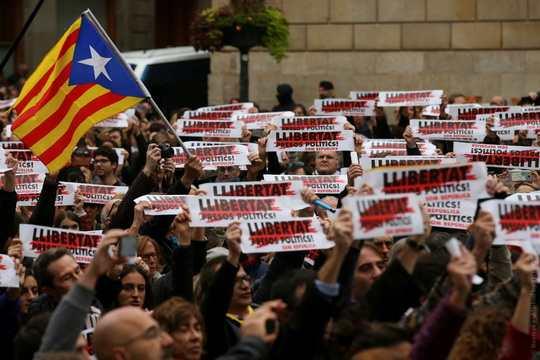 Общенациональная забастовка 8 ноября, в Каталонии.