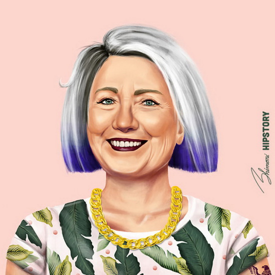 Хиллари Клинтон. Автор: Amit Shimoni.