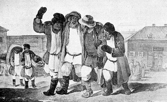 Закон 1839 года вовсе запретил открытые многолюдные собрания, и получается, приглашал толпу в кабак.