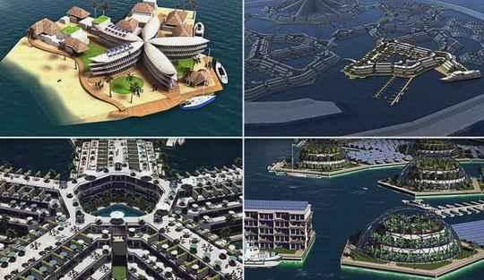 Концепция плавучего города многим покажется фантастикой, но она может стать реальностью в 2020 году.