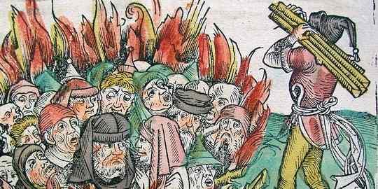Для картины, иллюстрирующей трагедию середины XIV века, Питер Брейгель — старший выбрал название «Триумф смерти».