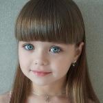 6-летняя Настя из России признана самой красивой девочкой в мире