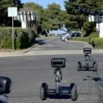 Роботы-сегвеи Nimbo выезжают на патрулирование