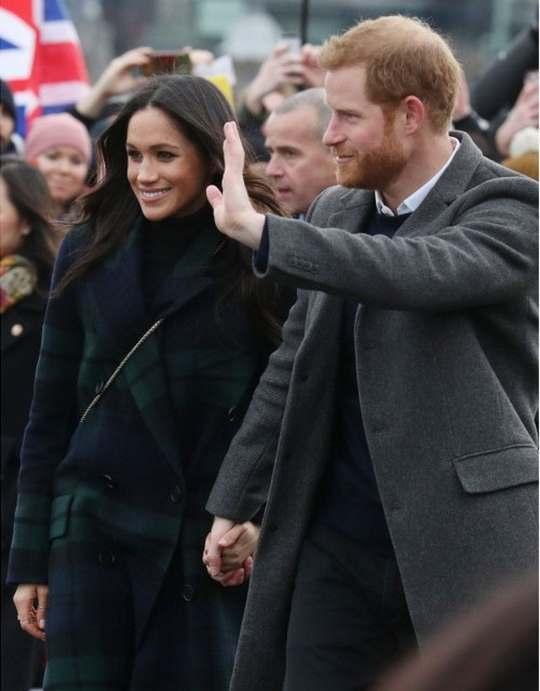 Меган Маркл и принц Гарри продолжают радовать своих поклонников и появляться на общественных мероприятиях