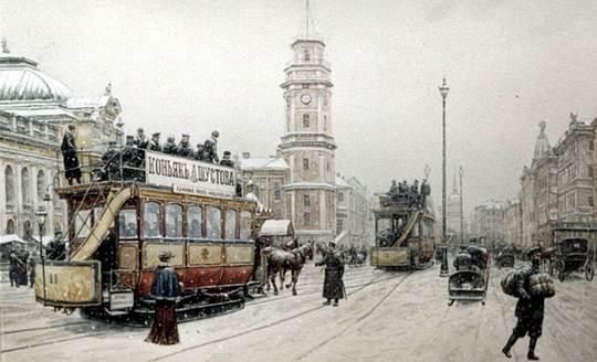 С 1918 года дорога мимо Смоленского и Охтинского кладбищ, а также Александро-Невской лавры превратилась для жителей тех районов Петрограда в аттракцион ужаса.