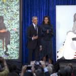 В Вашингтоне представили официальные портреты Барака и Мишель Обамы
