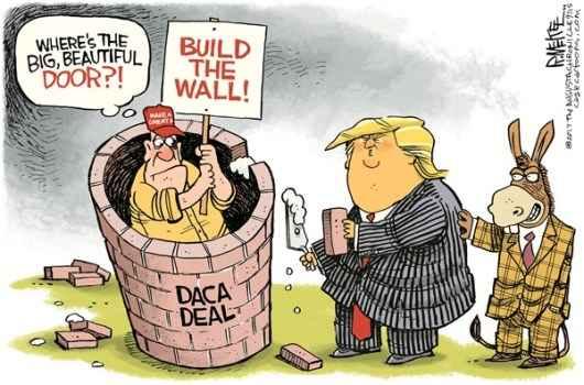 До восьмого февраля Конгресс должен одобрить будущий законопроект иммиграционной реформы, которая уже спровоцировала трёхдневную приостановку правительства.