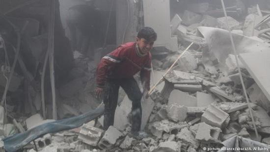 Положение мирных жителей Восточной Гуты катастрофическое, заявил генеральный секретарь ООН Антониу Гутерриш.