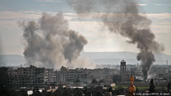 В регионе за два дня выведены из строя шесть клиник, включая важнейший госпиталь в Арбине, который дважды подвергался бомбардировкам. Как сообщает SOHR, это лечебное учреждение было целью атак российских военных самолетов.