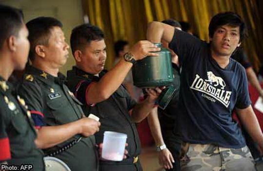 Призывной возраст в Королевскую армию Таиланда — 21 год.