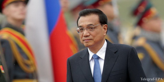 Chinese Prime Minister Li Keqiang arrives in Russia