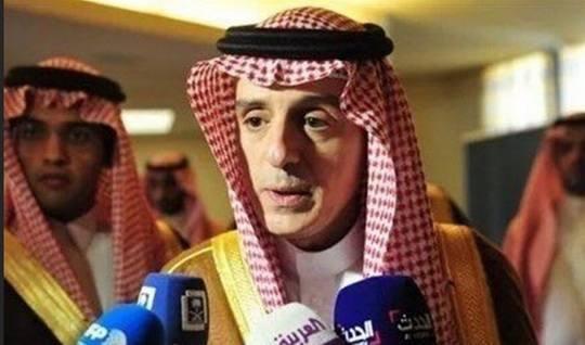 Глава Министерства иностранных дел Саудовской Аравии Адель аль-Джубейр заявил, что Катар должен направить свои войска в Сирию