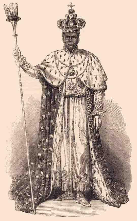 Фостен I считается одним из самых жестоких правителей Гаити.