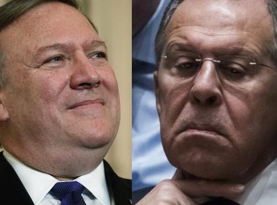 Майк Помпео, назначенный главой Госдепартамента в апреле этого года, созвонился со своим российским коллегой Сергеем Лавровым.