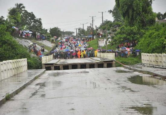 На Кубе из-за наводнений эвакуируют тысячи людей