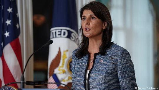 Постпред США при ООН Никки Хейли заявила о выходе США из Совета ООН по правам человека. Ранее США призывали к реформам организации.