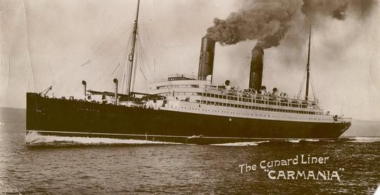 В начале Первой Мировой войны находившийся в Южной Америке немецкий пассажирский лайнер «Кап Трафальгар» был вооружён и переквалифицирован во вспомогательный крейсер.
