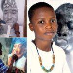 Африканский мальчик стал профессиональным художником в 8 лет