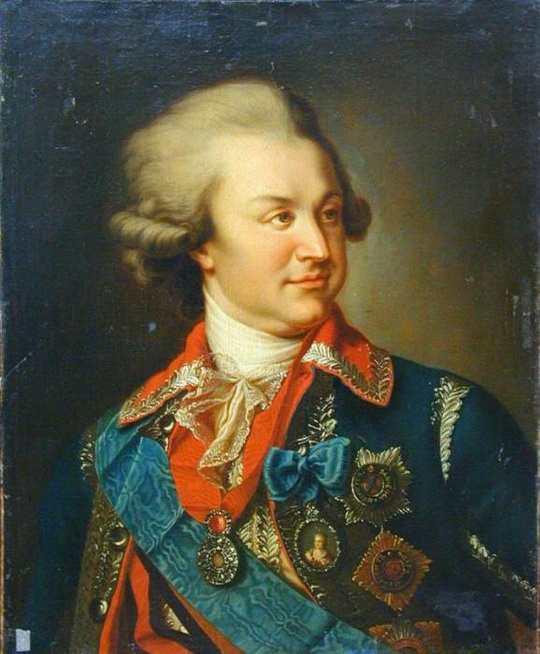 Пост про Светлейшего князя Григория Александровича Потёмкина-Таврического.