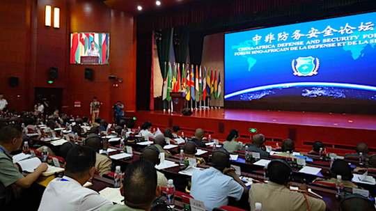 Еще в прошлом месяце Министерство обороны Китая пригласило представителей вооруженных сил аж 50 африканских стран