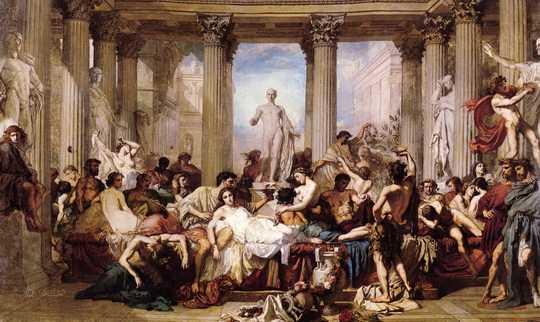 Не гунны положили конец Римской империи. Она пала под копытами аланской конницы.
