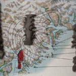 Какой народ пользовался трёхмерными картами, вырезанными из дерева?