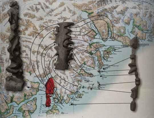 Инуиты Гренландии ещё до контакта с европейцами применяли трёхмерные карты береговой линии, вырезанные из дерева