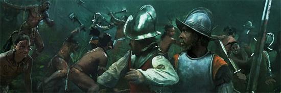 Когда Кортес со своим отрядом как-то покинул Теночтитлан, чтобы разбить отряд губернатора Кубы сеньора Веласкеса, в городе началось восстание против его правления.