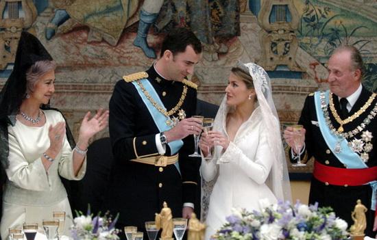 Свадьба принца Фелипе и Летисии Ортис. / Фото: www.sputniknews.com