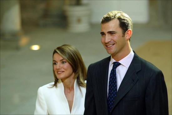 Помолвка принца Фелипе и Летисии Ортис. / Фото: www.revistavanityfair.es