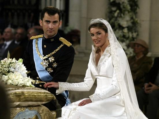 Свадьба принца Фелипе и Летисии Ортис. / Фото: www.radiocable.com