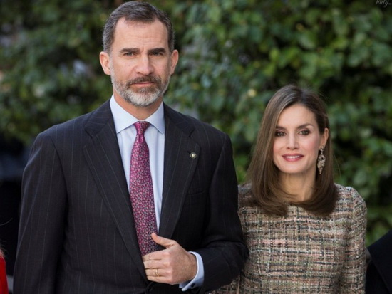 Король Испании Фелипе и королева Летиция. / Фото: www.golos.ua