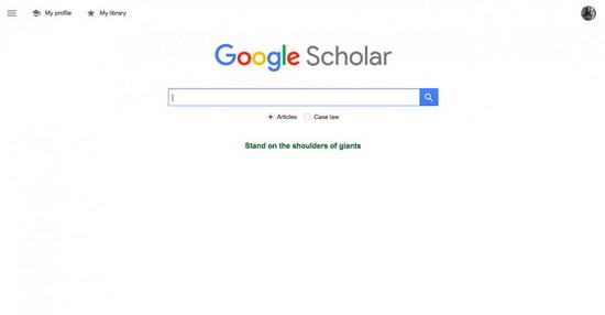 Google Scholar - делает невероятно легким поиск информации в журналах и газетах.