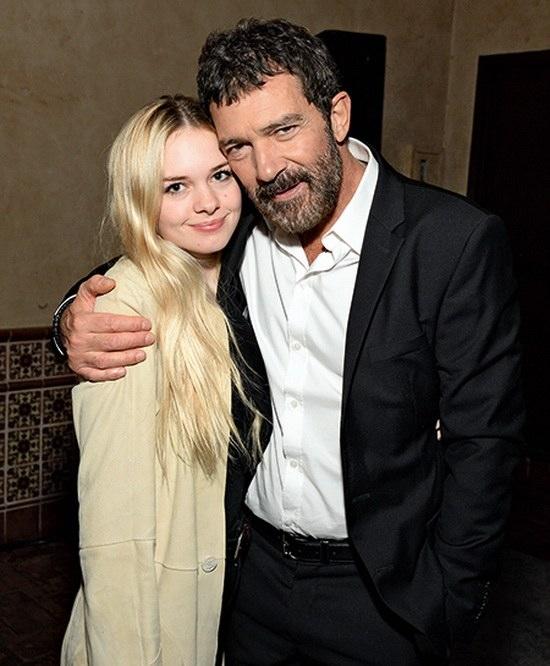 Антонио Бандерас с дочерью Стеллой