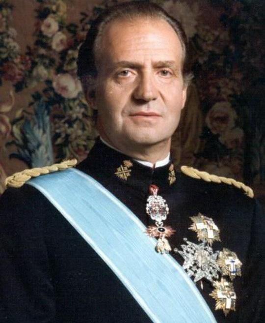 Король Испании Хуан Карлос I.