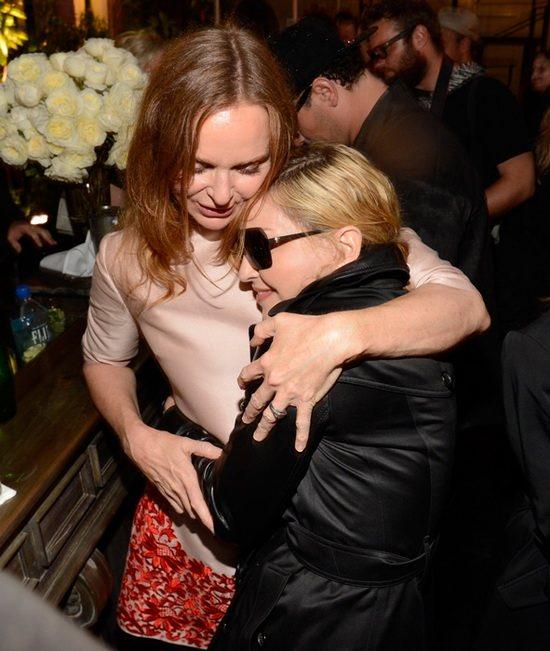 Мадонна на показе Stella McCartney, 2014 год