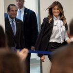 Мелания Трамп на саммите осудила социальные сети: новый образ и речь первой леди