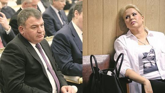 Анатолий Сердюков и Евгения Васильева все-таки поженились!
