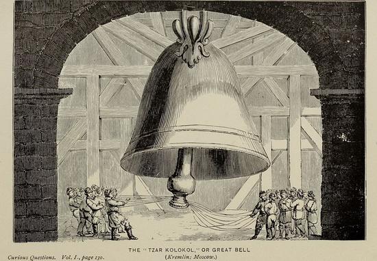 Царь-колокол или великий колокол, 1890 год