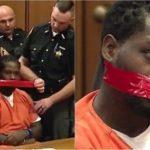 США: судья приказал заклеить рот слишком говорливому подсудимому (видео)