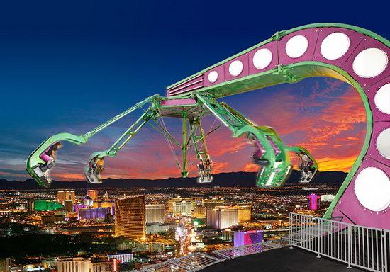 Кружить над пропастью: карусель в Лас-Вегасе, США