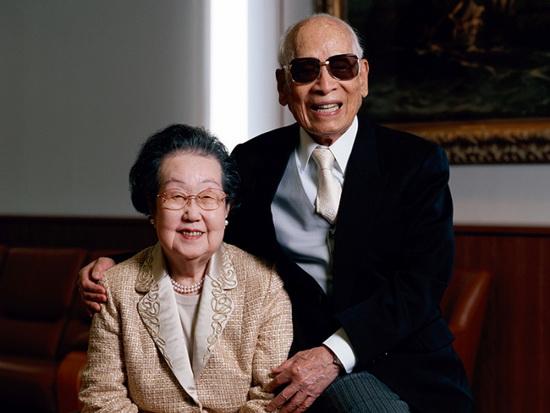 Всю жизнь, до самой старости, короля лапши поддерживала его верная жена Масако. /Фото:nippon.com