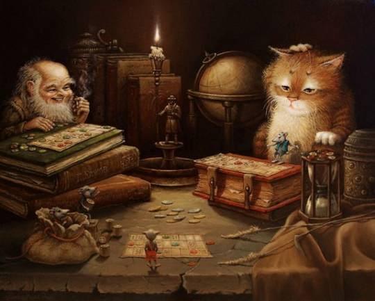 Это потрясающе милая и смешная серия историй о приключениях домового и его верного спутника — кота. ...продолжение. Часть 27