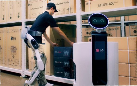 Компания LG, в последнее время все активнее занимается темой роботизации.