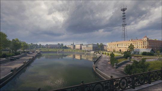Создатели игры разработали карту белорусской столицы 1960-х годов.