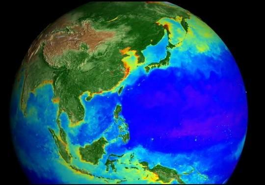NASA опубликовало ролик, в котором всего за несколько минут показано, как изменялась жизнь на планете в течение последних 20 лет.
