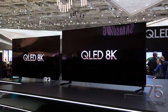 Samsung объявила в ходе проходящей в Берлине выставки IFA, что в конце сентября начнет продавать телевизоры с разрешением 8K.
