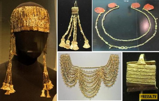 Троянские сокровища в Пушкинском музее