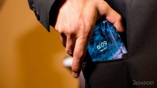 Довольно скоро Samsung может заработать репутацию «складывающейся» компании.